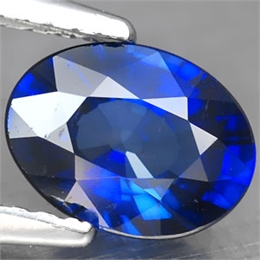 SAFIRA AZUL KASHIMIR INTENSE OVAL 1.48CT SAF CR 1,48
