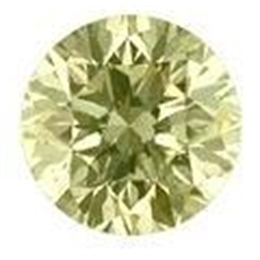 DIAMANTE BRILHANTE LIGTH YELLOW NATURAL 13 PONTOS VS