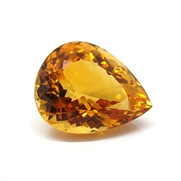 CITRINO AAA LARANJA NATURAL GOTA 16.48CT