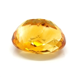 CITRINO AMARELO AA NATURAL OVAL 17.35CT