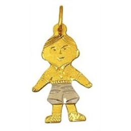 PINGENTE MENINO OURO 18K DBN 1H RB 080
