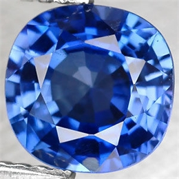 SAFIRA AZUL KASHIMIR CUSHION 2,34CT SAF LAB 2,34