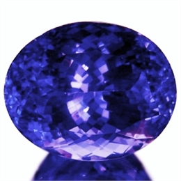 GIGANTE TANZANITA 5,83CT AAAA BLUE PURPURO 100% NATURAL