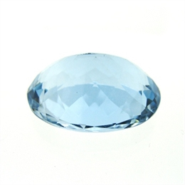 SKI BLUE TOPÁZIO EXTRA NATURAL FACETADO OVAL 18.48CTS