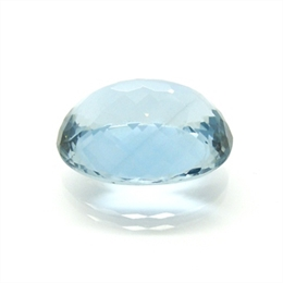 LONDON BLUE TOPÁZIO EXTRA NATURAL FACETADO OVAL 39.25CTS