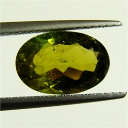 TURMALINA VERDE OVAL S2 2,87CT AS