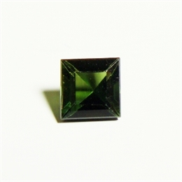 TURMALINA VERDE ESCURA CARRE 5X5MM AS