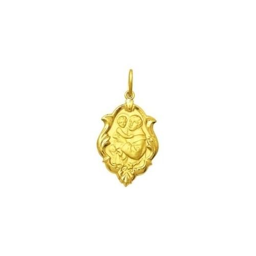Início · Pingentes e Medalhas Religiosas  MEDALHA SANTO ANTONIO EM OURO 18K  ORNATO DMS 2 070 43e02294c4