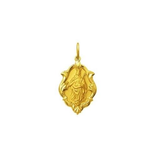 Início · Pingentes e Medalhas Religiosas  MEDALHA SANTA BÁRBARA EM OURO 18K  DMS 4 43 ba1ce478b4