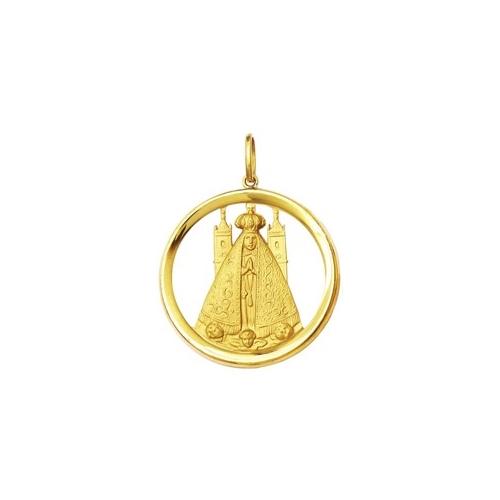 Início · Pingentes e Medalhas Religiosas  PINGENTE NOSSA SRA. APARECIDA  GRANDE OURO 18K DMR 11V 600 4c0c40ed94